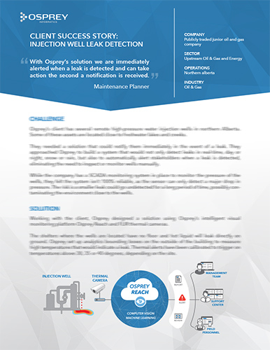 Case Study: Injection Well Leak Detection