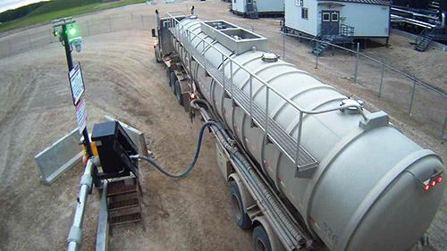 Oil Terminal loading
